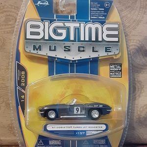 Jada Big Time Muscle 1967 Corvette Turbo Jet Roads